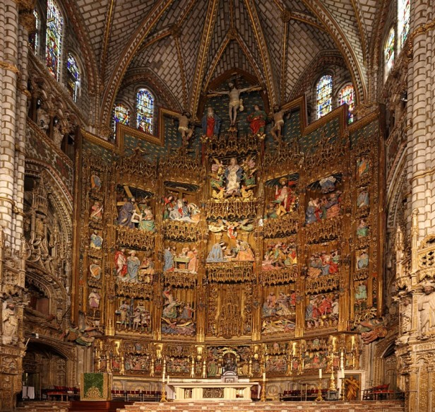 Toledo Cathedral altar